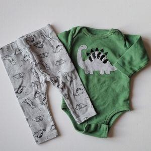 Dinosaur Infant Outfit - 6M